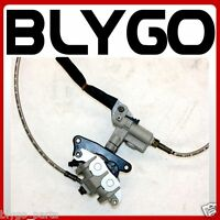 BSE Hydraulic Front Disc Brake Caliper System+ Pads 250cc PIT Trail Dirt Bike