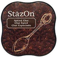 Tsukineko SZMID 45 StazOn Midi Ink Pad Spiced Chai
