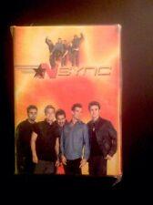 "Vintage 2001 *Nsync Mini 4"" Photo Album Gift Card Holder New Unopened"