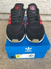 Adidas Iniki Runner London New York Exclusive Black Red Size 8 Boost S81010