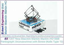 EE 7207 NEW Maerklin Märklin Marklin HO Type 13 Double Arm Pantograph Older SBB