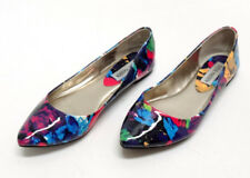 2a61f5827cb STEVE MADDEN PATENT LEATHER MULTI-COLOR BALLET FLATS-SIZE 6.5US 37EU