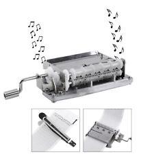 DIY Handkurbel Spieluhr Bewegung 30Note + Loch Puncher + 3 Papierstreifen Set