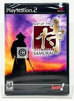 Way of the Samurai - PS2 - Brand New | Factory Sealed