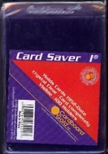 100 CARD SAVER I TOP LOADERS FOR GRADED CARDS 1 1's Cardsaver CS1