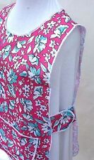 Ladies Floral TABARDS * Aprons (Superb Quality) 4 Colours/6 Sizes- 100% UK MADE!