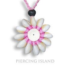 Halskette Anhänger Kauri Muschelkette Maori Amulett N061