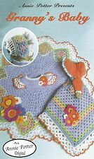 """Crochet baby clothes """"Granny's Baby"""" Annie Potter"""
