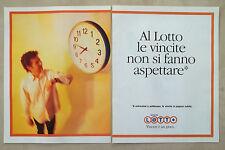 C285-Advertising Pubblicità-1998- LOTTO VINCERE E' UN GIOCO