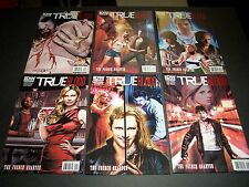 COVER A SET/6 TRUE BLOOD: FRENCH QUARTER #1 2 3 4 5 6 SOOKIE HBO VAMPIRE SERIES
