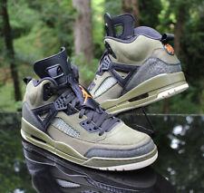 Nike Air Jordan Spizike Olive Canvas Men's Size 14 Black 315371-300