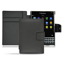 Case NOREVE Leather Wallet for BLACKBERRY PASSPORT - BLACK
