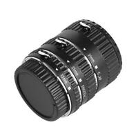 Auto Focus AF Macro Extension Tube Ring Lens Set for Canon EOS Lens M Mount