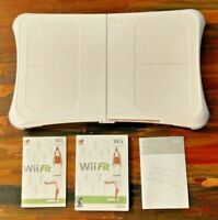 Wii Fit Balance Board and Wii Fit Game - Nintendo - Original Box