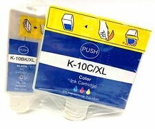 Printronic Kodak Compatible Ink Cartridge Set Printer Color Black 10 B/C XL 4Pk
