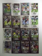Panini WCCF 2004-05 Juventus Complete 16 cards set BUFFON DEL PIERO IBRAHIMOVIC