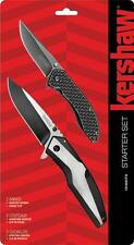 Kershaw Starter Set Tactical Speedsafe Spring Assisted Pocket 2 Knives Knife