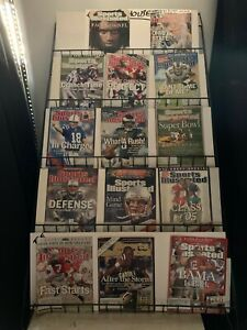 Sports Illustrated Football Cover editions 2002-2005 14 Items
