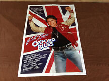 1984 Oxford Blues Original Movie House Full Sheet Poster