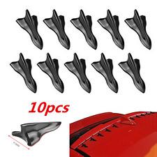 10 Pcs Vortex Generator Shark Fin Spoiler Diffuser Jet Style Spoilers & Wings