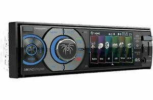 "Soundstream VR-345B Bluetooth Stereo 3.4"" LCD Screen DVD Aux USB Media NEW"