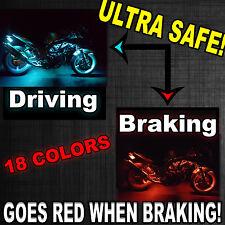 14pc Remote LED Motorcycle Light Kit Suzuki Boulevard M109R M90 w Brake Function