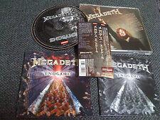 MEGADETH / end game /JAPAN LTD CD OBI
