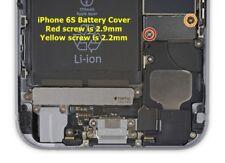 """IPhone 6 S 4.7"""" Batterie Support Métallique Bouclier connecteur et vis Set"""