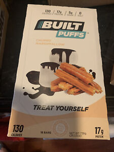 Built Bar Puffs Churro Limited Edition 18 Bar Pack. Completely Sold Out