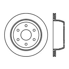StopTech Sport Slotted Brake Disc fits 1999-2007 GMC Sierra 1500 Safari Yukon  S