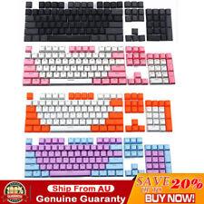 PBT Cherry MX 104 Keycaps DSA Key Caps Backlit For Gaming Mechanical Keyboard AU