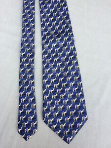 MEN'S NOVELTY TIE Beaufort Tie Rack CAMELS 100% Silk Made in Italy