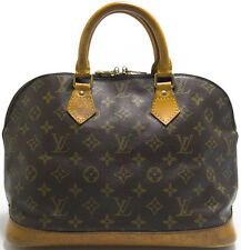 Louis Vuitton Sac Monogram ALMA Tasche Bag Elegant mit Patina Zeitlos Handbag O