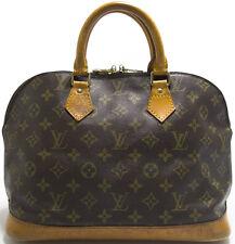 Louis Vuitton sac Monogram alma bolso Bag elegante con pátina intemporal handbag o