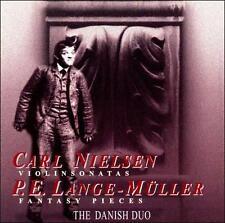 CARL NIELSON: VIOLINSONATAS; PETER ERASMUS LANGE-MLLER: FANTASY PIECES NEW CD