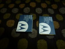 Motorola BQ50 Battery OEM W370 W370R W376 W376g W377 Active W450 VE240 LOT OF 2