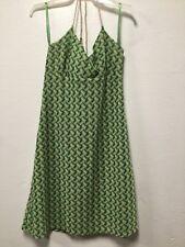 8108a8fb0c Womens Dress Size 4p Green Beige Side Zip Rope Accent Loft Ann Taylor 57