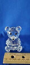 Swarovski Crystal Large Bear 7637Nr75 w/ Original Box
