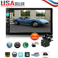 7inch HD 2Din Touch Screen Car Stereo MP5 Player Radio Android IOS USB/TF+Camera
