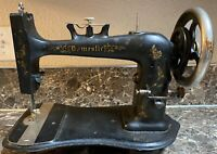 Domestic Treadle Sewing Machine Patent Year 1876 Antique Tested Working Used