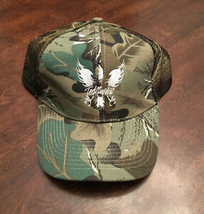 New Ted Nugent Camouflage Camo Love Grenade Concert Tour Snapback Cap Hat