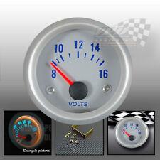 """volt gauge 8-16V interior dash panel dial gauge face 52mm plate pod 2"""" car boat"""