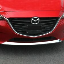 For Mazda 3 Axela 2014-2016 ABS Chrome Front Bottom Grille Bumper Cover Trim