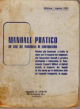 MANUALE PRATICO PERSONALE CONTROLLERIA TRENI-MANUAL TICKET CONTROL STAFF TRAINS