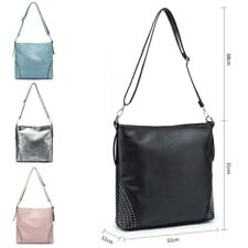 UK Ladies Large Cross Body Messenger Bag Women Shoulder Tote Satchel Handbag