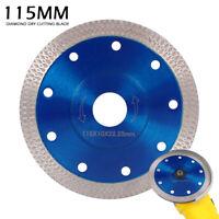 Disque de coupe en porcelaine diamant lame de foret angle de foret scie turbo