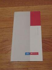 Northwest Airlines World Business Class Ticket Jacket 2000 =