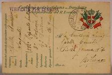 POSTA MILITARE 43^ DIVISIONE 13.12.1916 #XP291B