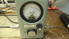 Bird Wattmeter 4410A w/50-200Mhz 1KW Slug Ham Commercial *Works* *Clean*
