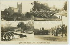 Sheffield, Pitsmoor, Hawley Series Multiview Real Photo Postcard, C018